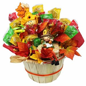 Caramel Apple Pops Limited Edition Harvest Basket For Fun Autumn Decor And Fall Birthday Gift Gifting